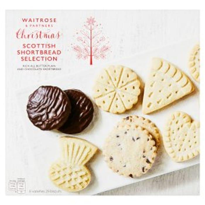 Waitrose Shortbread Selection 450g Half Price