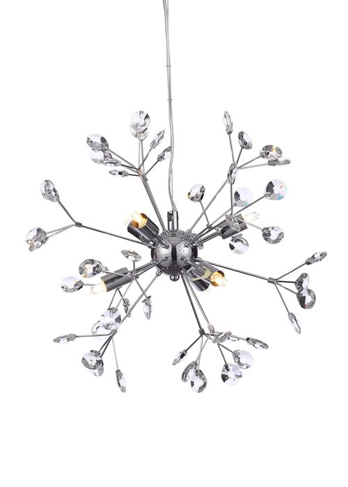 Saturn Crystal Glass Pendant Light - Save £75!