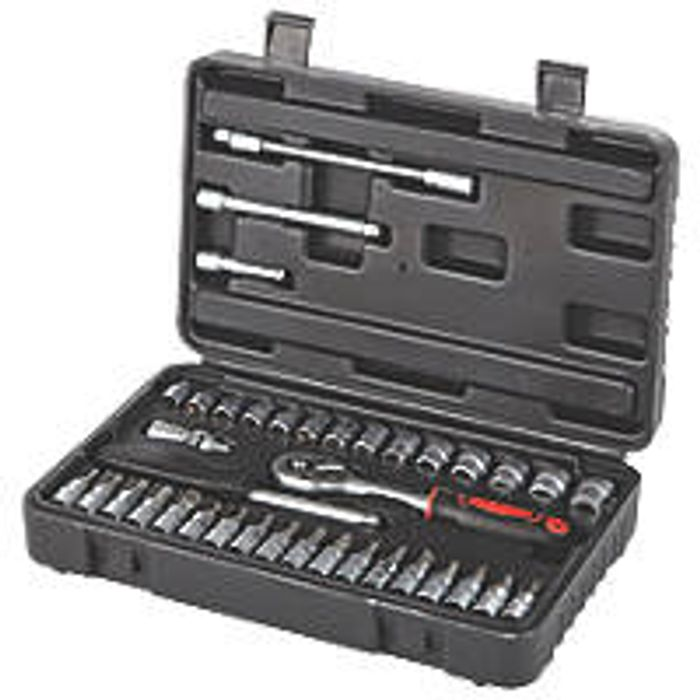 1/4 Drive Standard Socket Set 38 Pieces