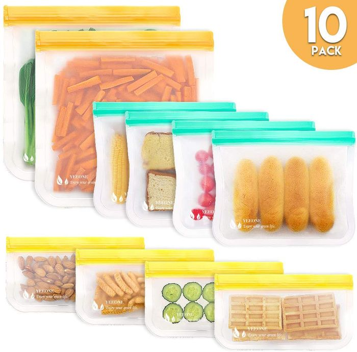 Deal Stack - Reusable Storage Bags - 50% off + Extra 20%