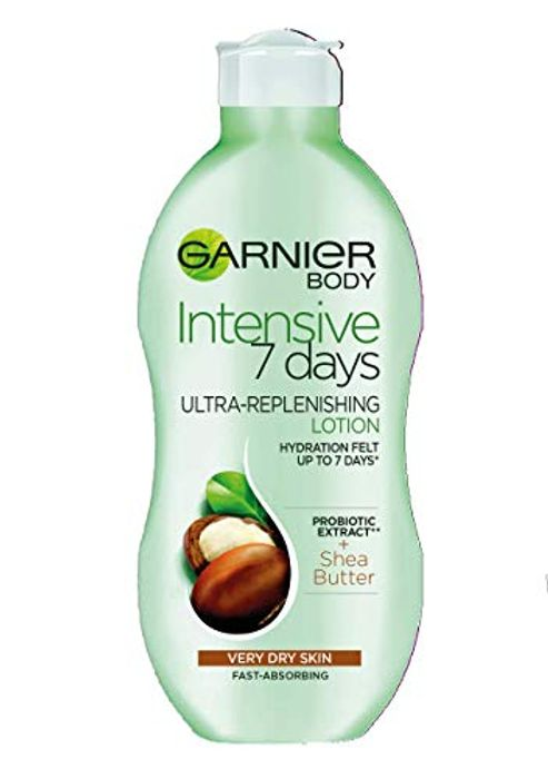 Garnier Intensive 7 Days Shea Butter Body Lotion Dry Skin 400ml MIN 2 to Order