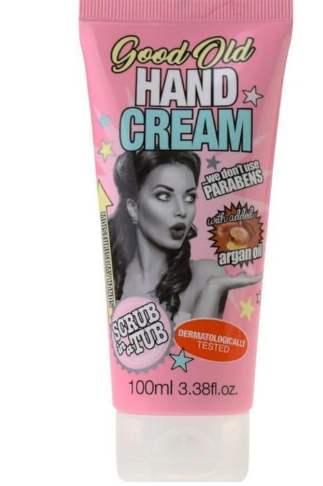 Scrub in a Tub Hand Cream with Added Argan Oil *100ml
