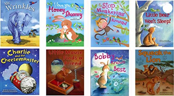 8 Children Bedtime Story Book Collection Gift Set