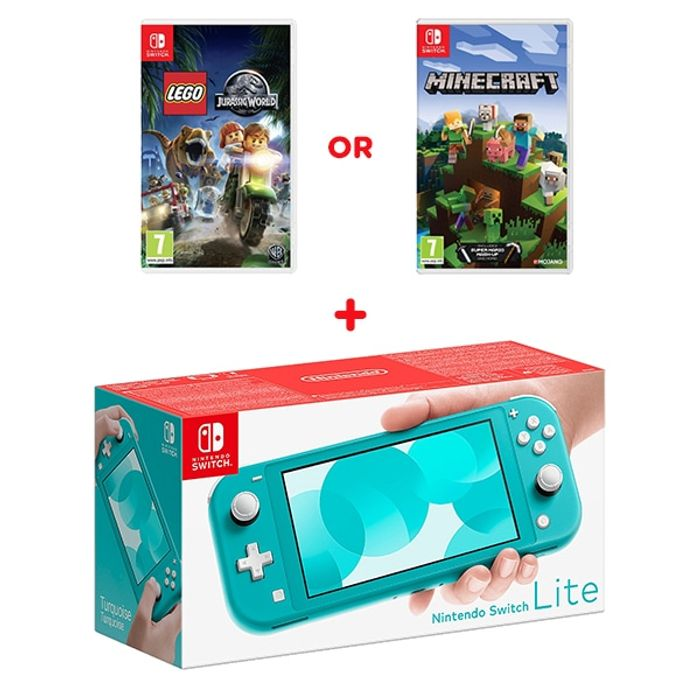 Nintendo Switch Lite Turquoise & Select Game Only £209.99