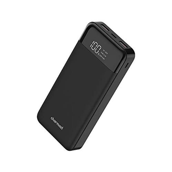 50% off Charmast Power Bank USB C 20800mAh