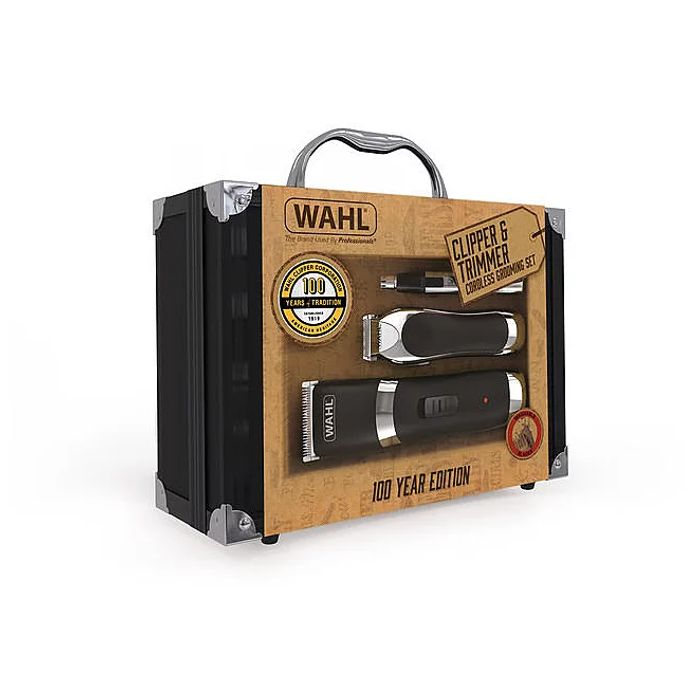 *HALF PRICE* Wahl Cordless Clipper and Trimmer Grooming Kit FREE C&C