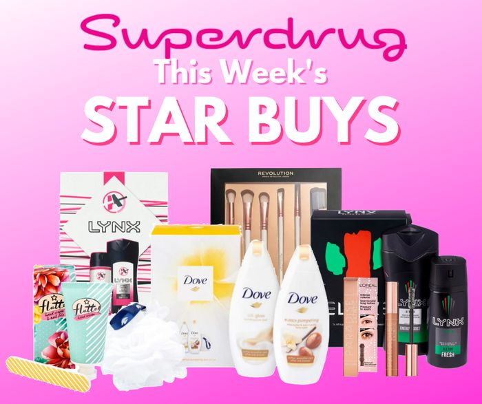 Star Buy's, Deal Stacks & Stocking Fillers This Week at Superdrug from 50p!