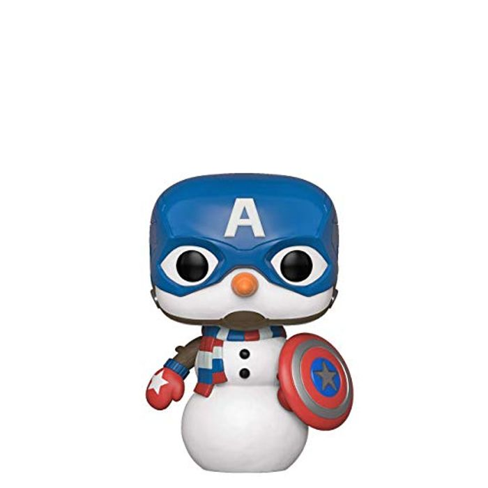 Marvel: Holiday-Captain America Capt Collectible Figure,
