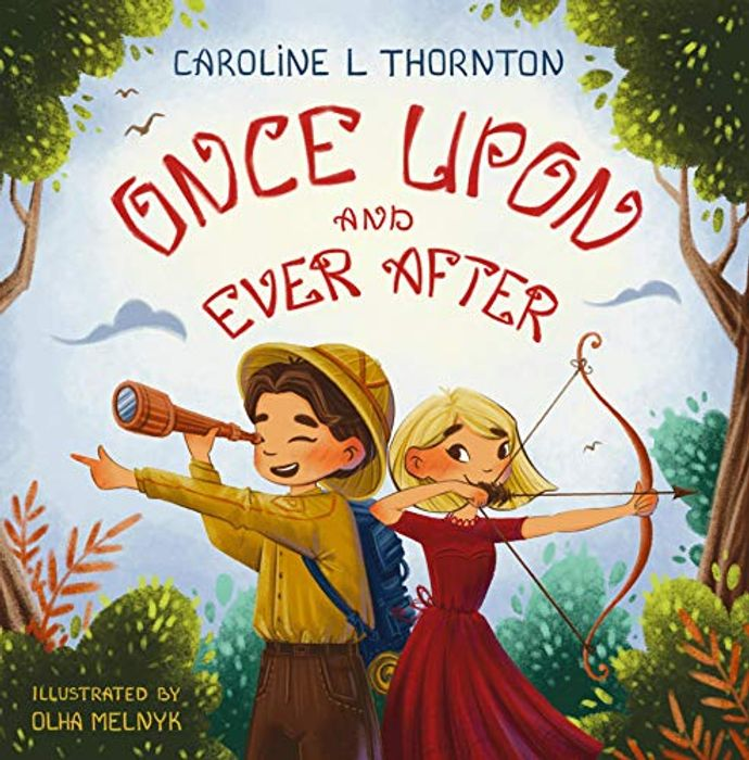 Free Modern Fairytale Ebook for Kids: Once upon and Ever After