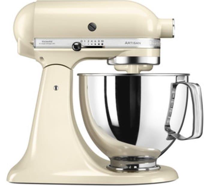 Cheap KITCHENAID Artisan Stand Mixer - Latte - Save £220!