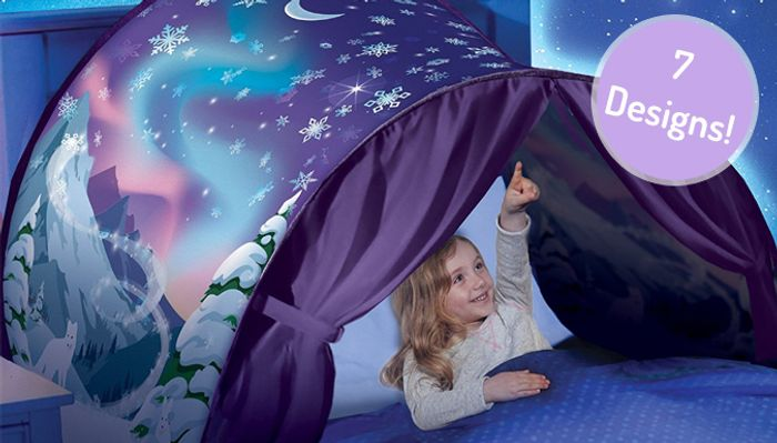 Kids Pop-up Bed Magical Tent with Light - 7 Designs!