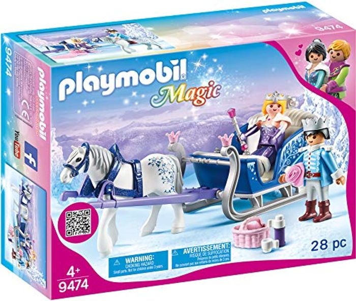 Best Ever Price! Playmobil 9474 Magic Sleigh with Royal Couple