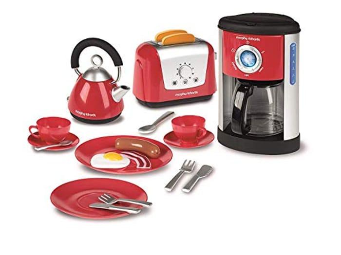 Casdon Red and Grey Kitchen Set