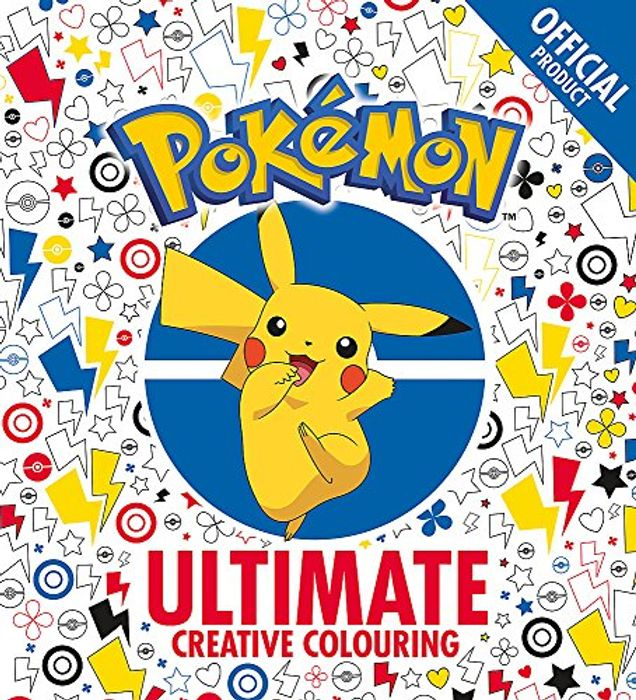 The Official Pokmon Ultimate Creative Colouring