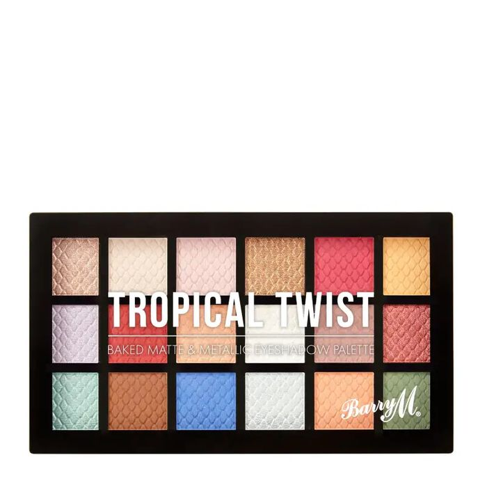 Barry M Baked Eyeshadow Palette Tropical Twist 16.2g