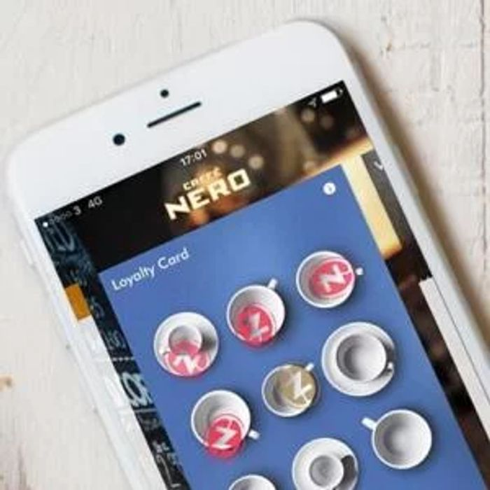 Free Cafe Nero Hot Drink When You Download the App.