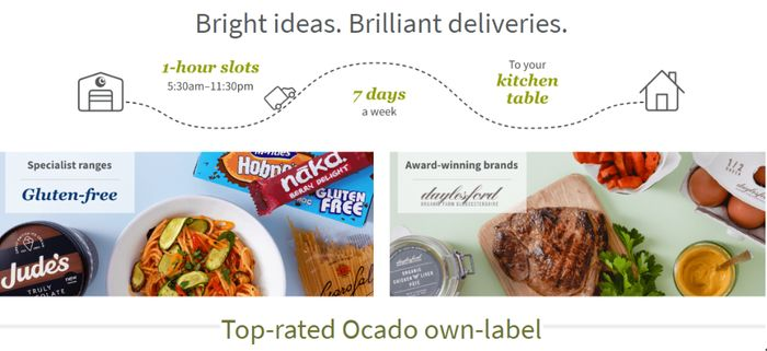 £20 Off Your First Grocery Shop Plus Free Deliveries For 3 Months