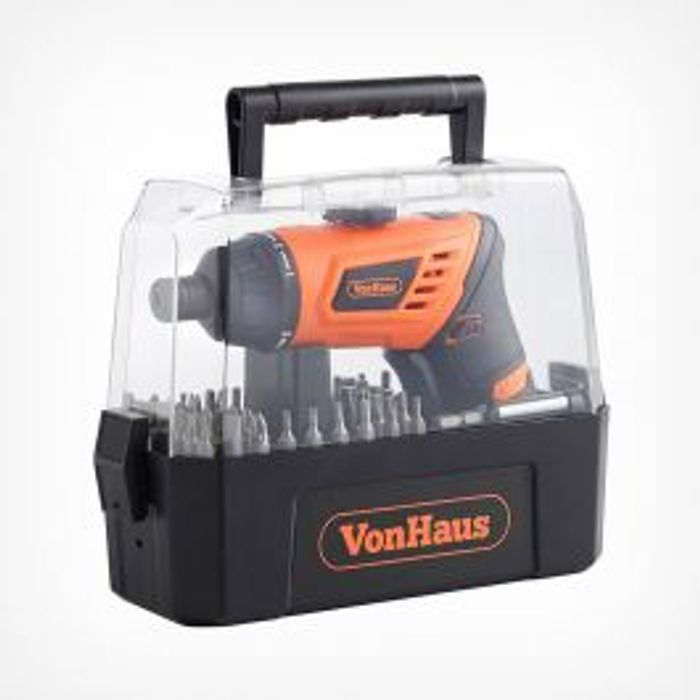 50pc Cordless Screwdriver Set on Sale From £19.99 to £16.99
