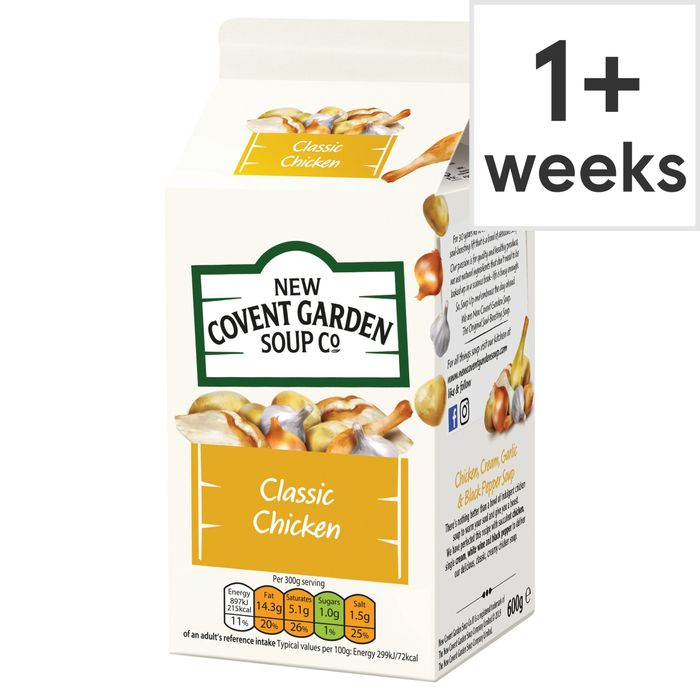 New Covent Garden Chicken Soup 600G - HALF PRICE!