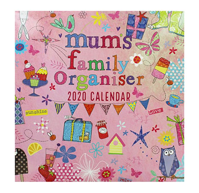 Cheap Mums Family Organiser 2020 Calendar £1.5 with Discount Code