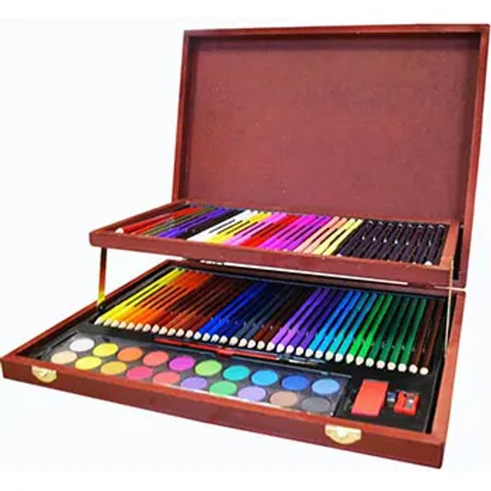 Complete Colouring and Sketch Studio - Free Delivery with Voucher Code!