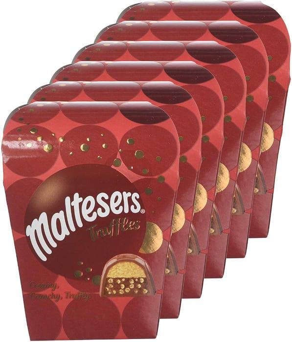 Best Ever Price! Maltesers Truffles Small Gift Box, 54 G, Pack of 6 -HALF PRICE!