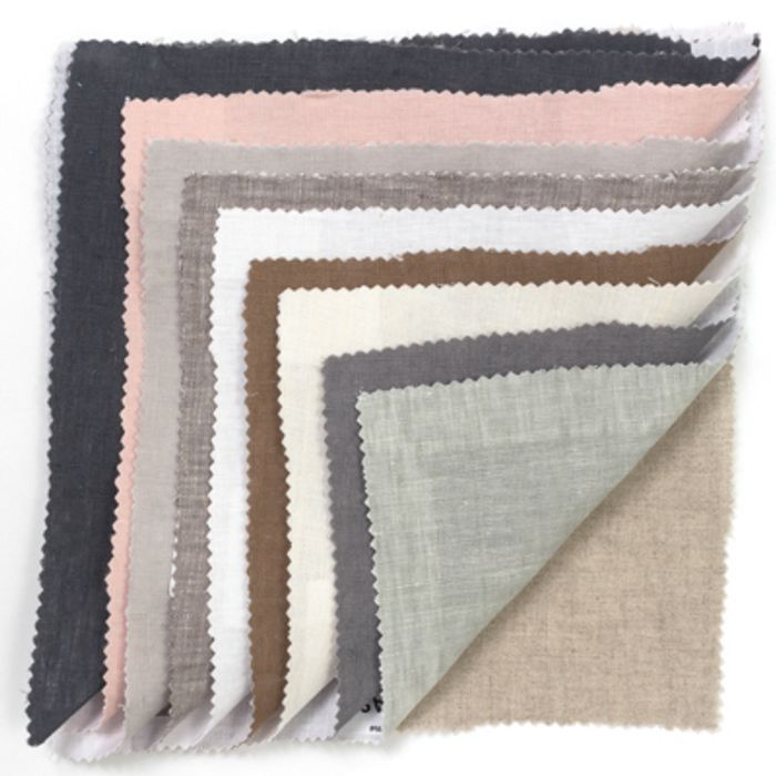 5 Free Linen Fabric Swatches.