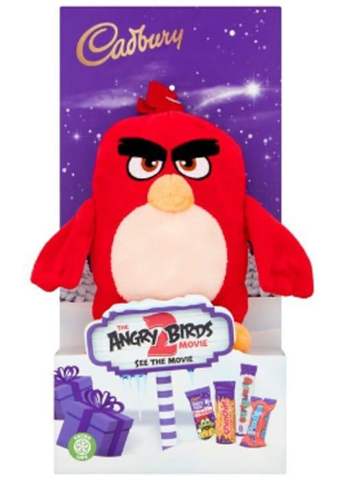 Cadbury Angry Birds Plush Toy with Milk Chocolate Assortment - Half Price