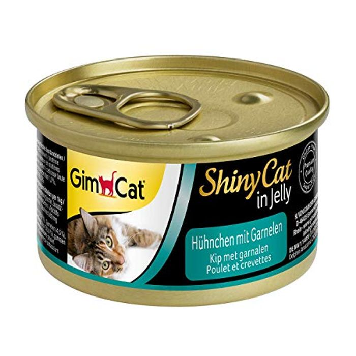 Cat Food with Poultry in Jelly for Adult Cats 24 Cans (24 X 70 G)
