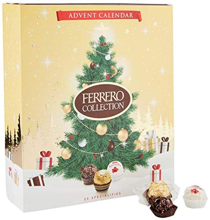 Ferrero Collection Chocolate Pralines Advent Calendar, 271 G