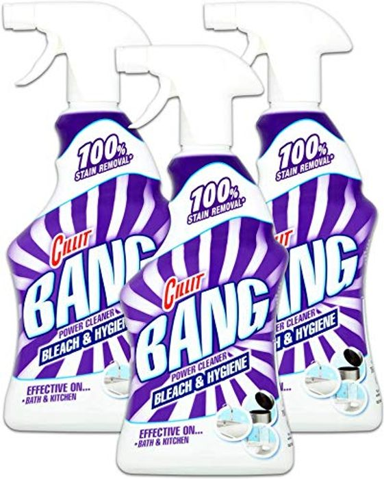 Cillit Bang Bleach and Hygiene 750ml, Pack of 3