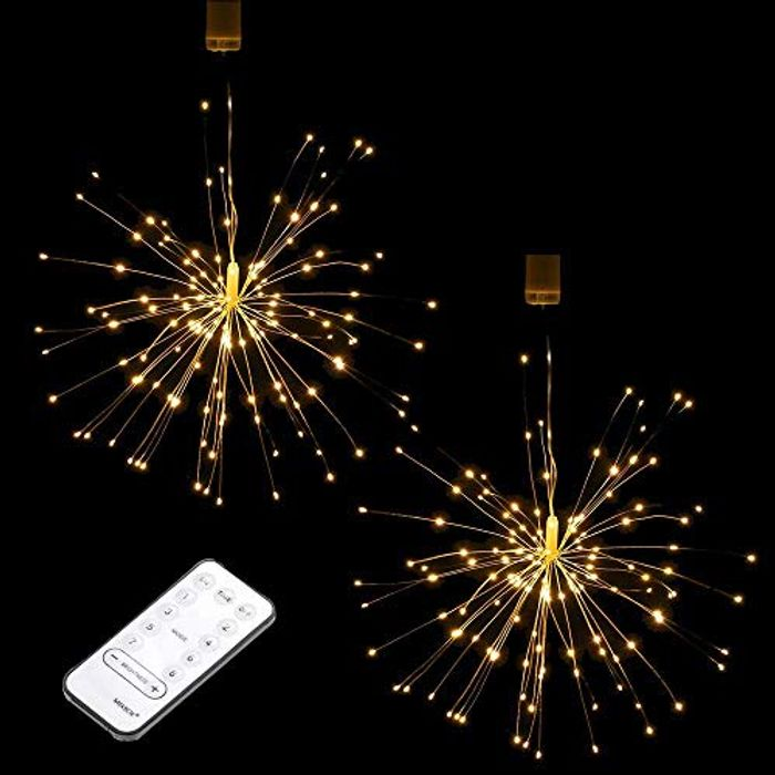 50% off 2 Piece Firework Light with 150 LEDs