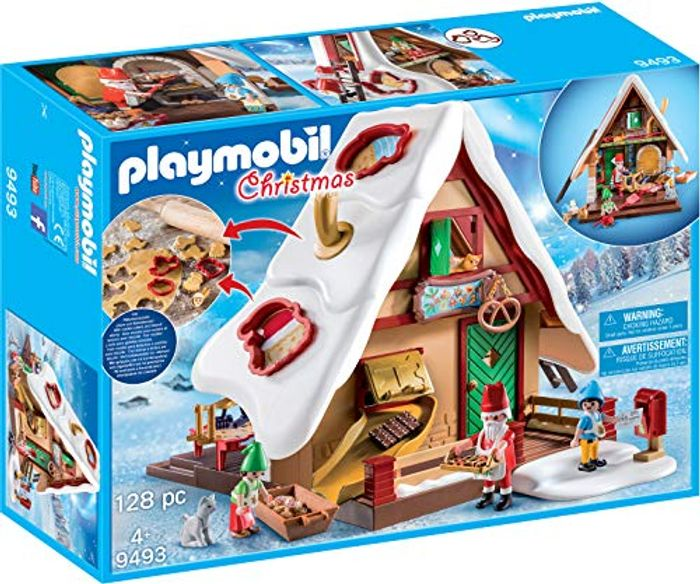 PLAYMOBIL Christmas 9493 Christmas Bakery with Cookie Cutters - Save £5!