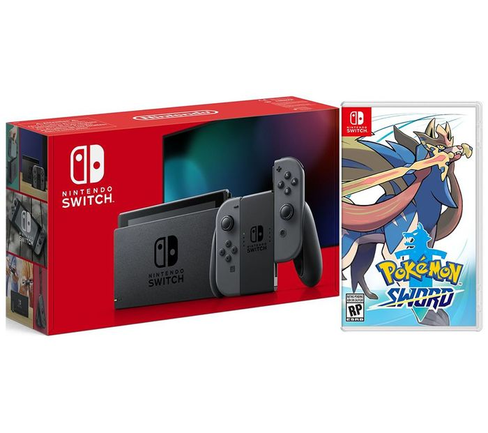 Black Friday Deal New Nintendo Switch + Pokemon Sword Bundle £279 - save £44.99