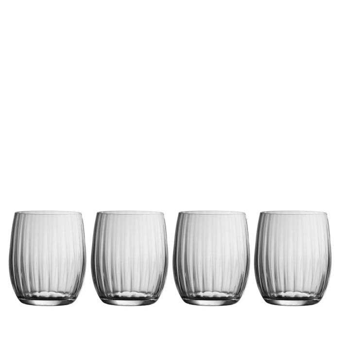 Galway Living Erne Set of 4 Crystal Tumbler Glasses - save £17.99
