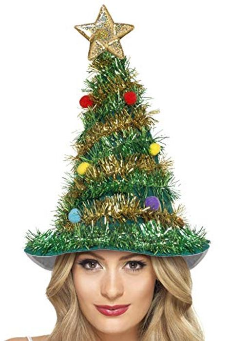 Smiffys Christmas Tree Hat Only 2.91 Delivered