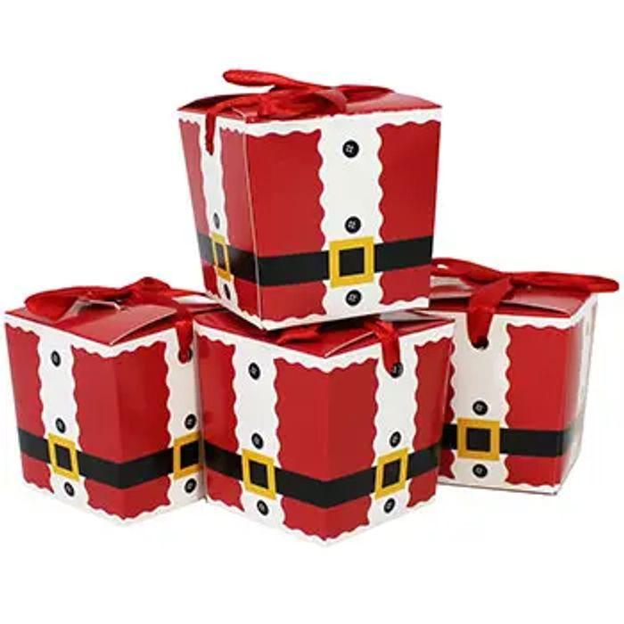 4 Festive Treat Boxes Assorted - Only £1.12 with Voucher Code!