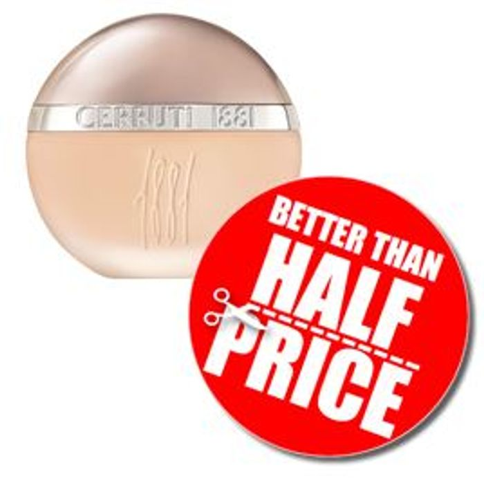 Best Price Sale Cerruti 1881 Femme EDT, 100ml *4.6 STARS* Save 52%