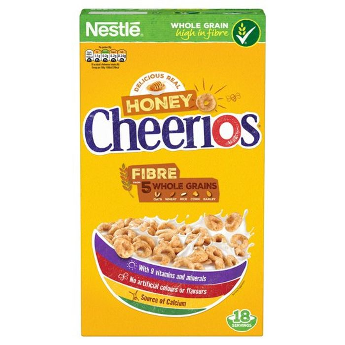 Nestle Honey Cheerios 565g on Sale From £3.3 to £2
