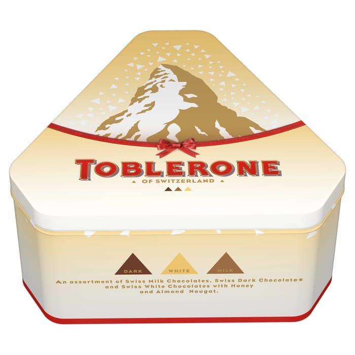 Toblerone Tinys Tin 368g 5 At Tesco Latestdealscouk