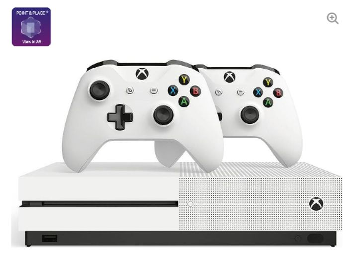 MICROSOFT Xbox One S & Two Wireless Controllers Bundle - 1 TB Only £249