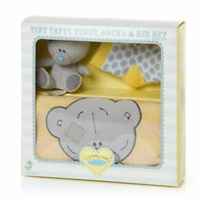 Me to You Tiny Tatty Teddy, Socks, Bib and Soft Toy Gift Set