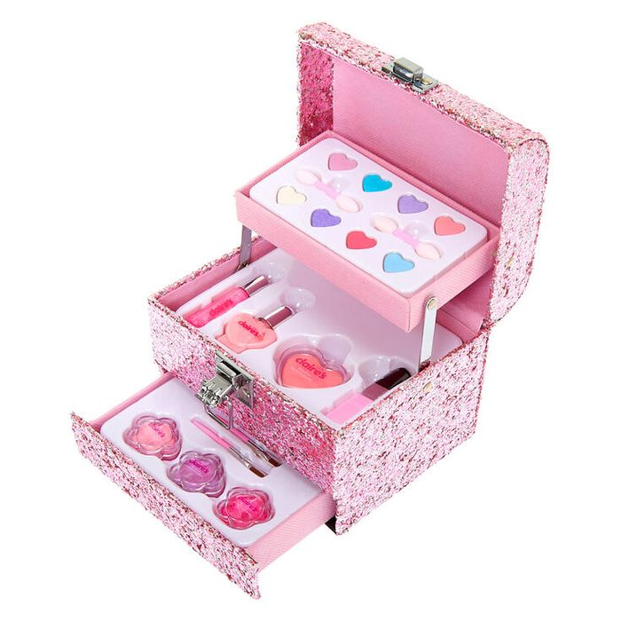 Claire's Club Mini Glitter Mega Case Makeup Set (Pink) - HALF PRICE!