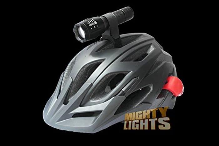 Cheap Lights Helmet Mount Torch Light at Amazon, Only £15.99!