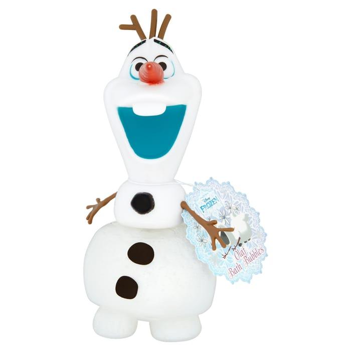 Disney Frozen Olaf 3D Bubble Bath 375Ml HALF PRICE