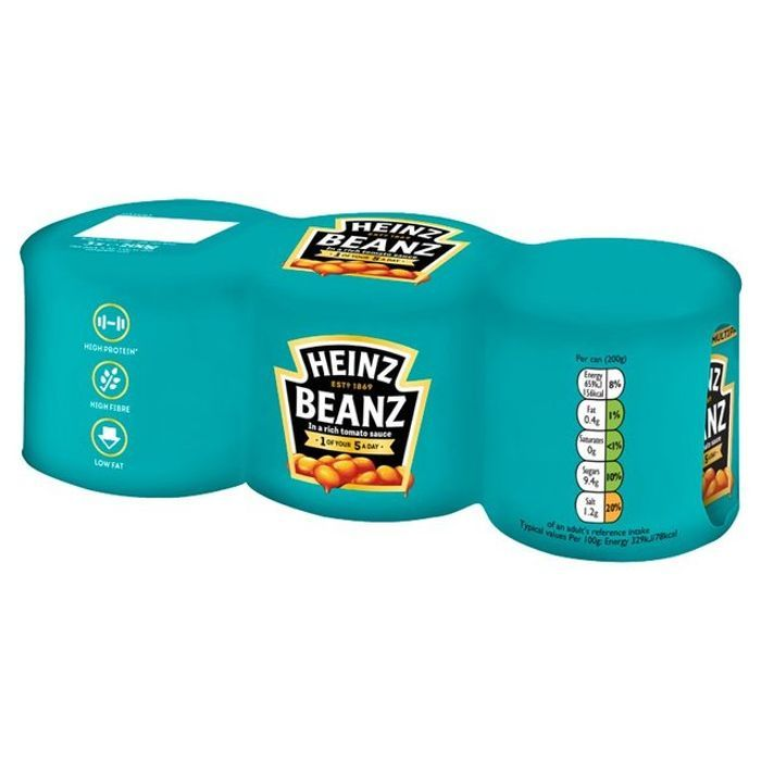 Cheap Heinz Baked Beans 3 X 200g at Morrisons Only £1!