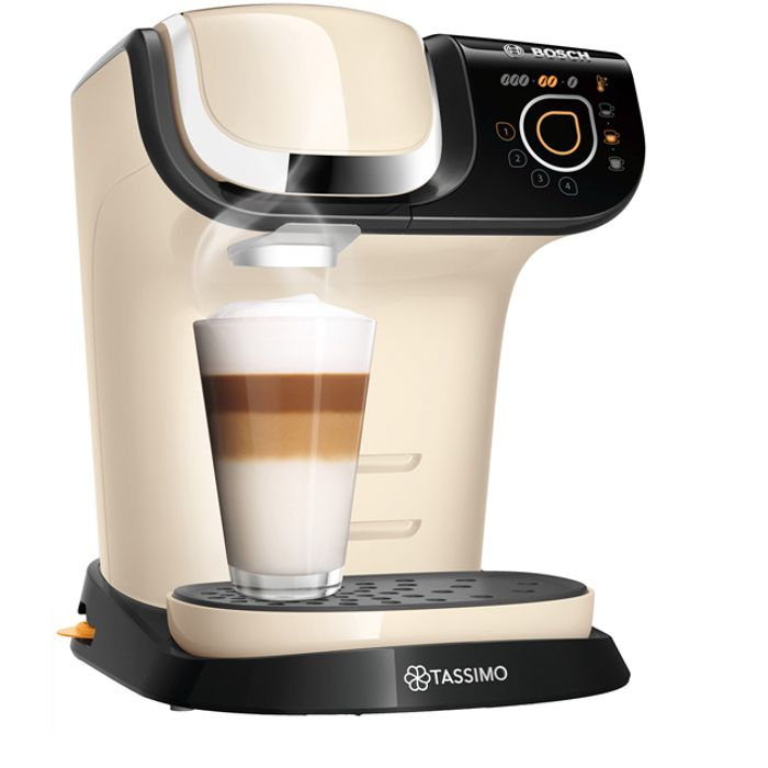 *BLACK FRIDAY DEAL* Tassimo by Bosch My Way 2 Pod Coffee Machine - Cream