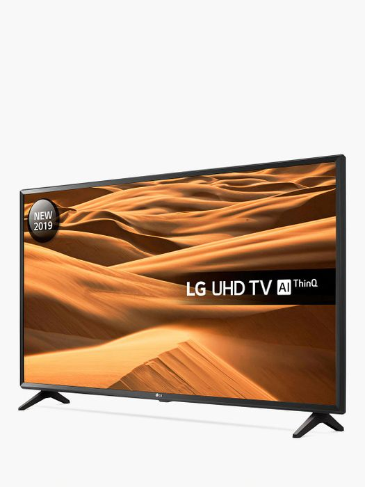 """LG 2019 LED HDR 4K Ultra HD Smart TV 43"""" with Freeview Play/Freesat + 5yr G'tee"""
