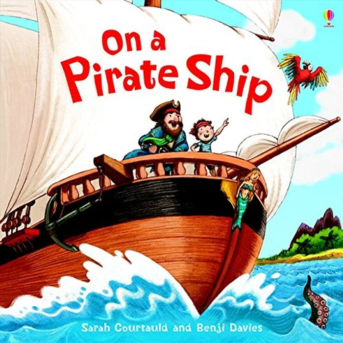 The Pirate Ship Usborne Book Only £2