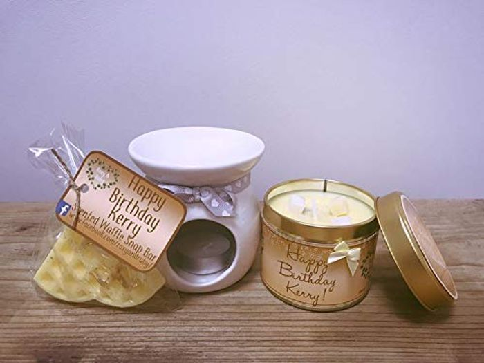 'Lady Million' Perfume Scented Candle Package Gift Set